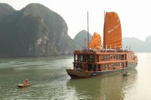 Bahia de Ha Long, en Vietnam. Foto Saturn A.