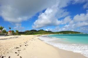 Las playas más exclusivas del Caribe, las de la pequeña isla francesa Saint Barth, en las pequeñas antillas. Foto de jack metthey.