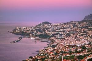 Vista de la bahía de Funchal en Madeira. Foto de Mr.Enjoy.