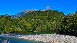 Río Travieso en la Patagonia chilena. Foto de Noelegroj.