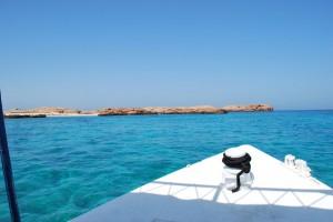 Oman conserva aún su patrimonio natural. En la imagen las espectaculares islas Daymanyiat. Foto de Renaud Anoto
