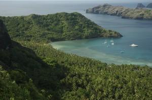 Nuku Hiva en las Marquesas, Gauguin, Brel, todos lo pintaron, cantaron, el paraíso soñado. Foto de hogie98105