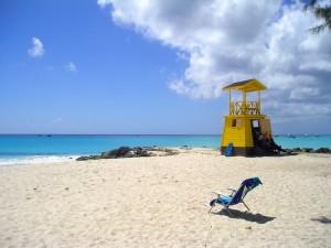 Las plyas de arena blanca de Barbados, un paraiso aún poco visitado. Foto de AdrienG.