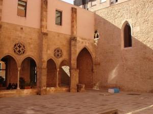 Bar en el barrio del Borne, situado en un antiguo convento religioso. Foto de Oh Barcelona.