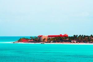 Aruba, en las Antillas Holandesas, una idílica imagen del Caribe. Foto de Roland.