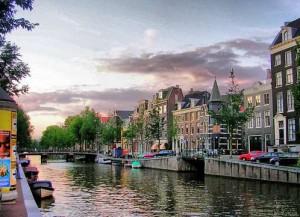 Canales de Amsterdam.