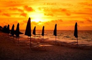 La playas de Bermudas son aprecidas por los turistas que utilizan los cruceros de la costa este de los EE.UU. Foto de andrew rein.