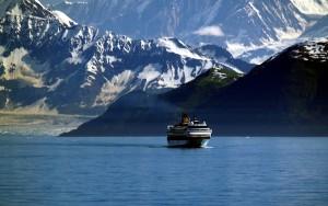 Un crucero en el glaciar de Hubberd, en Alaska. Foto de Martin Prunty.