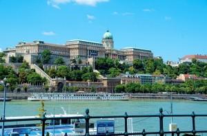 El Palacio de Buda sobre el Danubio. Foto de Miguel Angel Barroso Lorenzo.