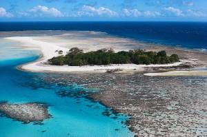La Gran Barrera Australiana forma el organismo vivo más grande de la tierra. Foto de serbasembilancom
