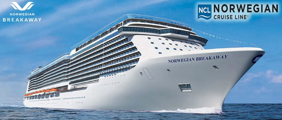 El crucero futurista Norwegian Breakaway navegará entre N.York y el Caribe en 2013