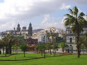 La catedral en pleno casco antiguo de Las Palmas.. Foto de Rol1000