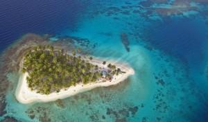 Isla Perro, un lugar paradisiaco de Panama.