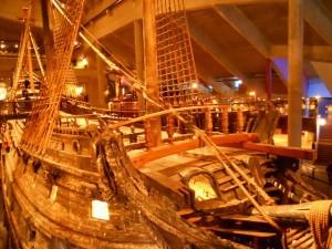 El buqeu Vasa del siglo XVII, un Museo único. Foto de Konde.